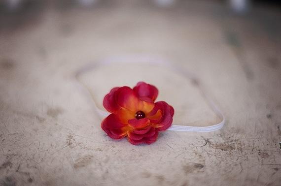 Mini Sunset Flower Headband
