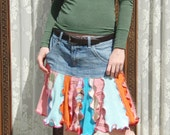 Custom elf skirt, using your skirt or pants