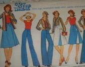 Vintage- 1960s -1070s--SEVEN  -patterns- Dress -skirts,pants-,Butterick,Simplicity,MCcalls,Large -n-Extra Large-woman sizes