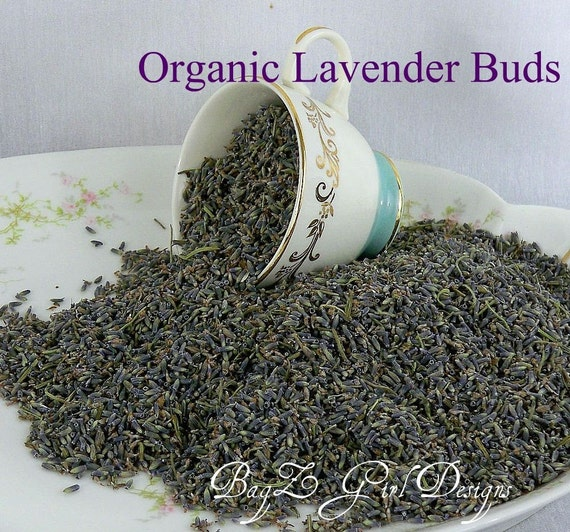 3 Full cups of Organic Dried Lavender Buds - wedding, sachets , incredibly fragrant, Tea-Soaps