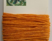 10 Yards Gold 4 ply Irish Waxed Linen Thread