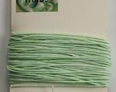 10 Yards Mint 4 ply Irish Waxed Linen Thread