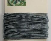 10 Yards Slate Grey 4 ply Irish Waxed Linen Thread