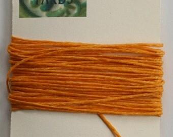 5 Yards Gold 4 ply Irish Waxed Linen Thread