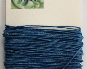 10 Yards Royal Blue Irish Waxed Linen Thread