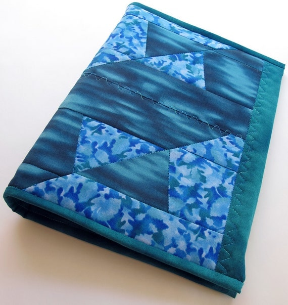 Art Journal or Visual Journal Teal Quilted Half-Letter Size