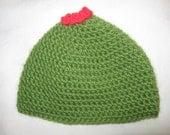 Olive My Love Beanie with Expedited Shipping for Amanda