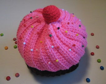 Cupcake Hat With Sprinkles- Made to Order