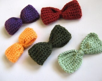 Bunches of Bows in Fall Colors