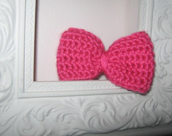 Little Pink Knit Bow