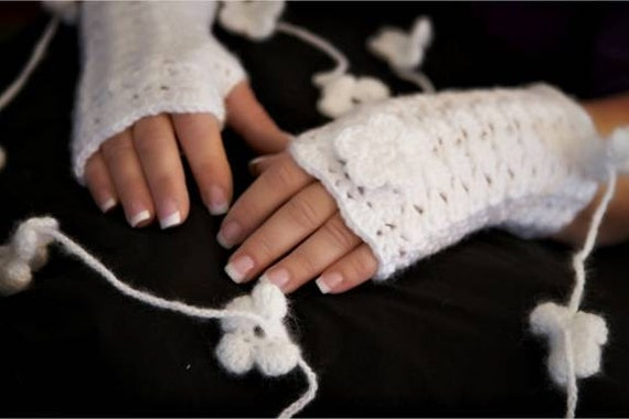 Lacy Fingerless Gloves in Any Color of the Rainbow