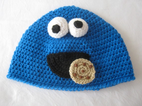 Cookie Monster Hat- Made To Order