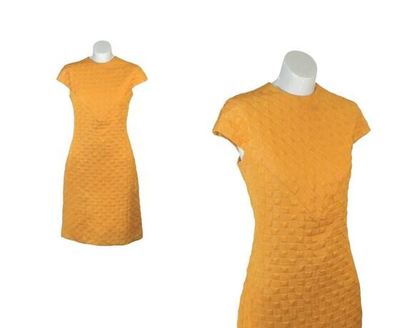SALE Vintage 1960s Dress / 60s Dress / Mod M