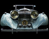 Vintage Classic 1938 Bentley photo