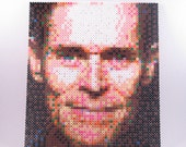 Perler Portrait - Willem Dafoe - PORTFOLIO CLEARANCE!