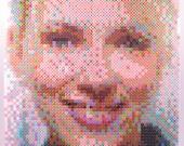 Perler Portrait - Scarlett Johansson - PORTFOLIO CLEARANCE!