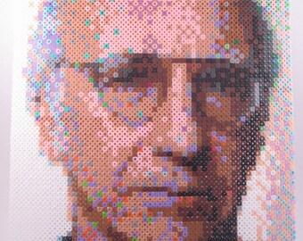 Perler Portrait - Larry David
