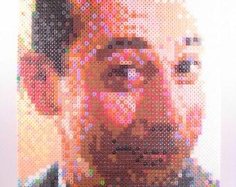 Perler Portrait - Pee Wee Herman (Paul Reubens)