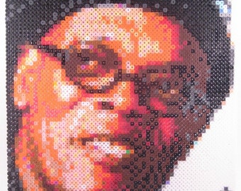 Perler Portrait - Samuel L. Jackson
