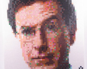 Perler Portrait - Stephen Colbert