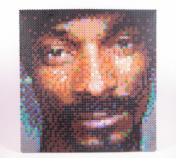 Perler Portrait - Snoop Dogg