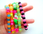 6 Colorful Beaded Bracelets w/ Free USA Shipping