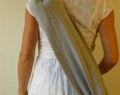 Recycled Sweat Pants Yoga Bag