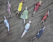 60s Fashion Model collection