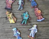Retro Robots Collection