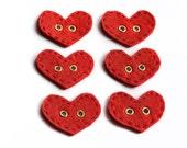 Heart Felt Buttons