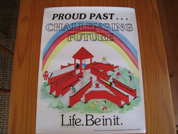 Life Be In It Poster Proud Past Challenging Future