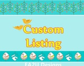 Custom listing for Risa