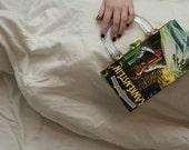 Frankenstein Altered Book Purse