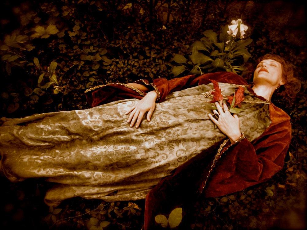 Reduced The Ophelia Vintage Pre Raphaelite