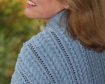 Laurel Park Shrug Knit Pattern (PDF)
