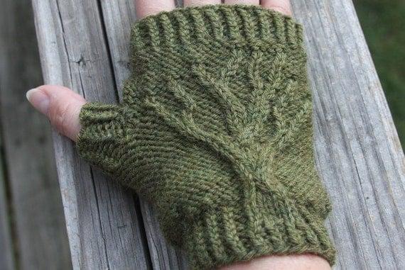 Tree Of Life Fingerless Gloves Knit Pattern Pdf
