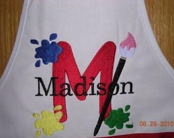 Personalized Child's Apron