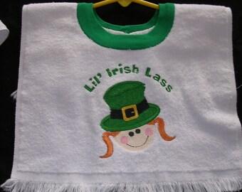 Irish Lass  Bib