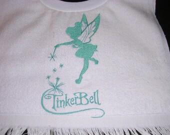 Girls Tinkerbell Bib