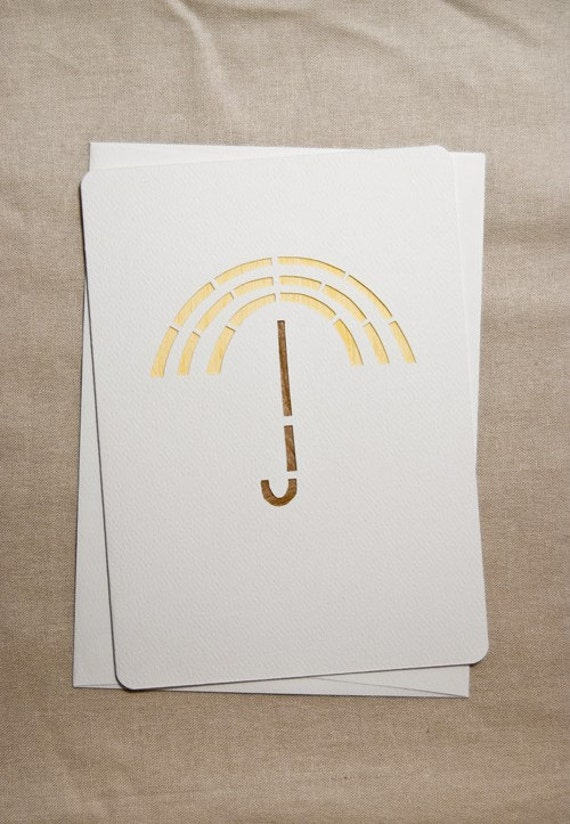 SALE: it's raining - greeting card