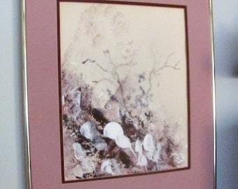 Abstract  Original Painting  Acrylic Mixed Media