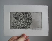 Mini Etched Doily Print
