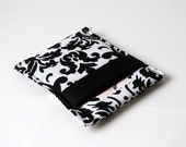 Black/White Damask Phone/Camera Sleeve