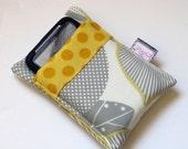 Linen Optic Blossom Phone/Camera Sleeve