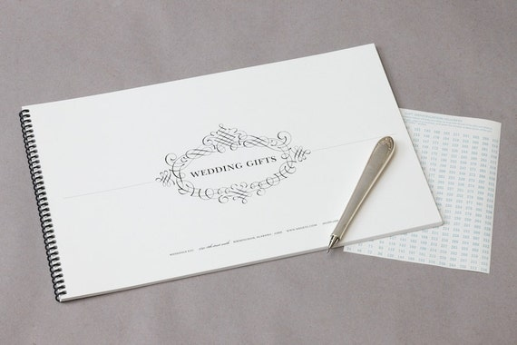 Wedding Gift Etiquette Late : Wedding Etiquette Bundle Gift Tracking & Thank You by WeddingsEtc