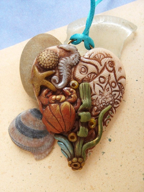 Under The Sea Pendant 1- the Reef