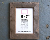 Reclaimed Natural Pine Picture Frame (5 x 7 inches)
