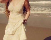 Tattered Ranch Beach Wedding Similar dress CUSTOM Any color END OF SUMMER SALE