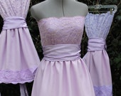 Bridesmaid dress-  Strapless Custom your colors and size