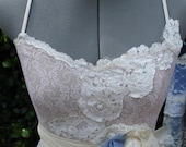 Wedding Dress- The Audrey Style- Long Eco Lace Long Dress